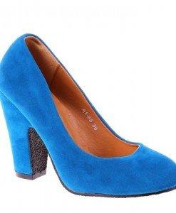 Pantofi Alyda albastri - Home > Pantofi -