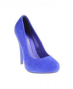 Pantofi Annalisa blue - Home > Pantofi -