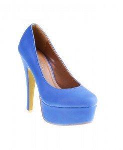 Pantofi Annaliz blue - Home > Pantofi -