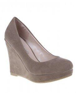 Pantofi Madina khaki - Home > Pantofi -