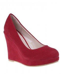 Pantofi Madina rosii - Home > Pantofi -