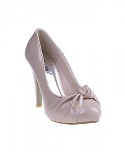 Pantofi Rachel beige/pat - Home > Pantofi -
