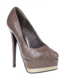 Pantofi Ronda khaki - Home > Pantofi -