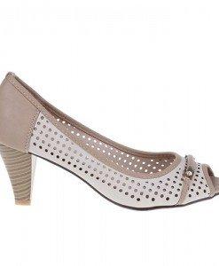 Pantofi Rozmarie beige - Home > Pantofi -