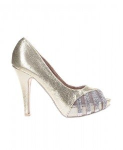Pantofi Samantha gold - Home > Pantofi -