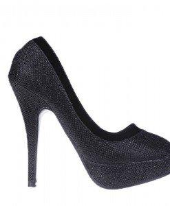 Pantofi Samara negri - Home > Pantofi -