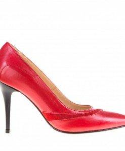 Pantofi Stiletto Smarty red - Home > Pantofi -