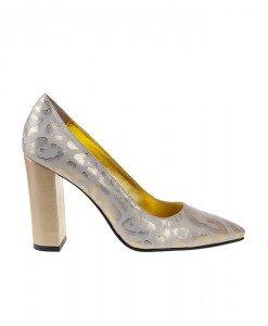 Pantofi Stiletto cu toc gros Aliya - Home > Pantofi -