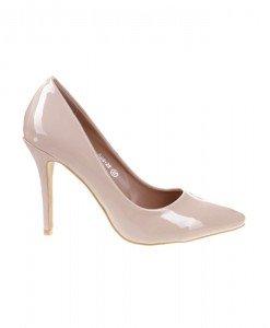 Pantofi Stiletto din lac Lavinia - Home > Pantofi -