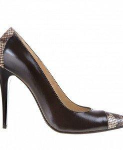 Pantofi Stiletto din piele Arabella - Home > Pantofi -