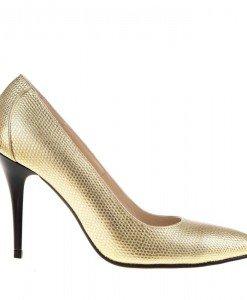 Pantofi Stiletto din piele Goldie - Home > Pantofi -