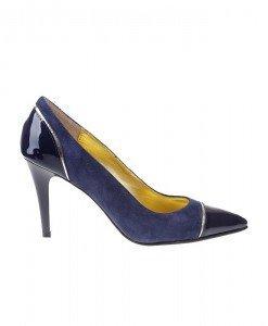 Pantofi Stiletto din piele naturala Narcisa - Home > Pantofi -