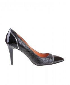 Pantofi Stiletto din piele naturala Tamara - Home > Pantofi -