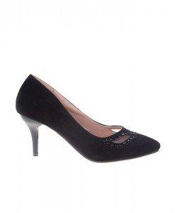 Pantofi Stiletto din velur Roberta - Home > Pantofi -