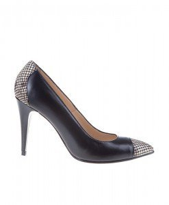 Pantofi Stiletto in combinatii Anaconda - Home > Pantofi -