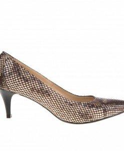 Pantofi Stilettos din piele Bobi Fero - Home > Pantofi -