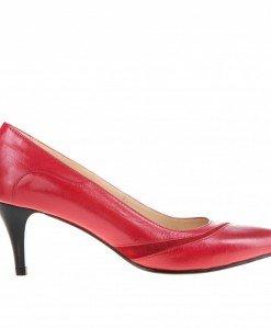 Pantofi Stilletto rosii Dania piele - Home > Pantofi -
