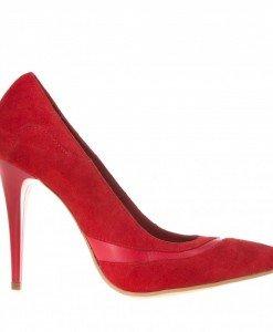 Pantofi Wendy rosii piele - Home > Pantofi -
