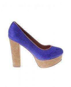 Pantofi West blue/beige - Home > Pantofi -