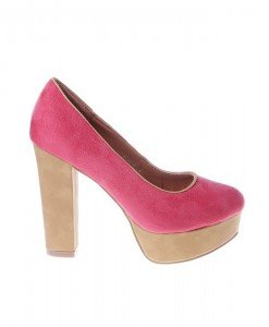 Pantofi West red/beige - Home > Pantofi -