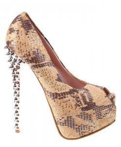 Pantofi camel Kitty - Home > Pantofi -