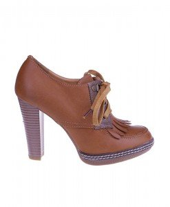 Pantofi dama Olan brown - Home > Pantofi -