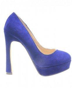 Pantofi dama albastri Start - Home > Pantofi -