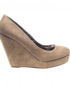 Pantofi dama apricot Coral - Home > Pantofi -