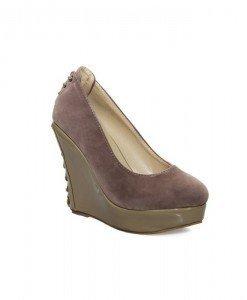 Pantofi dama khaki Hopeful - Home > Pantofi -