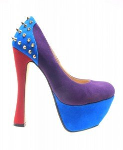 Pantofi dama mov Spider - Home > Pantofi -