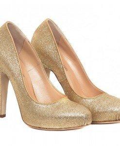 Pantofi de dama Golden glitter - Home > SOld OUT -