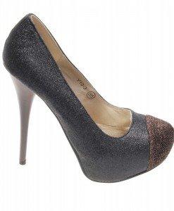 Pantofi de dama gold Glitter - Home > Pantofi -