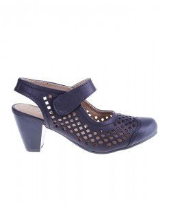 Pantofi de vara negri Castiele - Home > Pantofi -