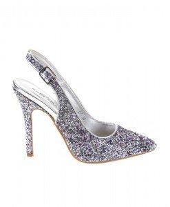 Pantofi stiletto cu paiete Sandra - Home > Pantofi -