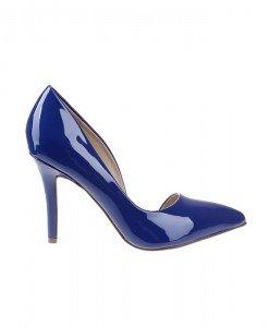 Pantofi stiletto din lac BlueLagune - Home > Pantofi -