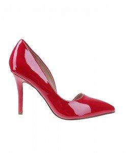 Pantofi stiletto din lac Pretty - Home > Pantofi -