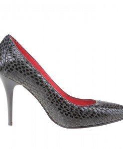 Pantofi stiletto din piele naturala Desideria - Home > Pantofi -