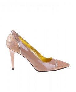 Pantofi stiletto din piele naturala Loona - Home > Pantofi -