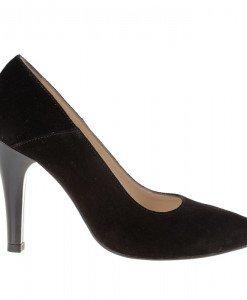 Pantofi stiletto din piele naturala Noela - Home > Pantofi -
