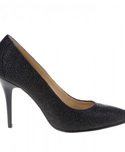 Pantofi stiletto din piele naturala Olala - Home > Pantofi -