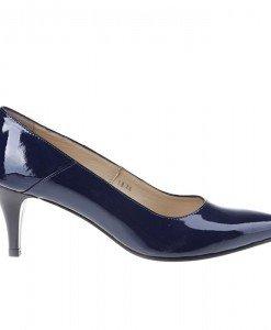 Pantofi stiletto din piele naturala Telma - Home > Pantofi -