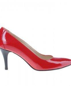 Pantofi stiletto din piele naturala Theresa - Home > Pantofi -