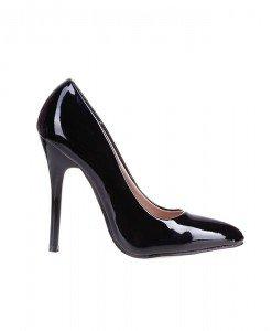 Pantofi stiletto salma black - Home > Pantofi -