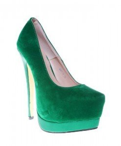 Pantofi verzi Merida - Home > Pantofi -