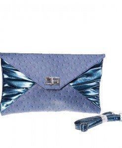 Poseta plic blue Priscilla - Home > Genti -