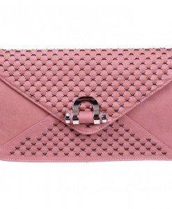Poseta plic pink Athena - Home > Genti -