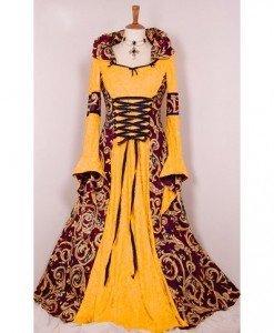 Q219 Costum tematic medieval - Epoca - Medieval - Haine > Haine Femei > Costume Tematice > Epoca - Medieval
