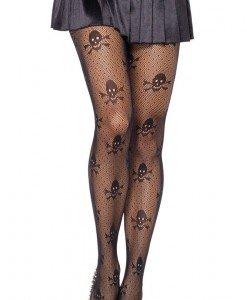 STK128-1 Ciorapi sexy cu model cap de mort - Ciorapi dama - Haine > Haine Femei > Ciorapi si manusi > Ciorapi dama