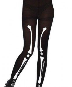 STK208-1 Ciorapi cu chilot si model anatomic schelet - Ciorapi dama - Haine > Haine Femei > Ciorapi si manusi > Ciorapi dama