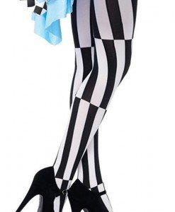STK209-1122 Ciorapi cu chilot si model psihedelic - Ciorapi dama - Haine > Haine Femei > Ciorapi si manusi > Ciorapi dama